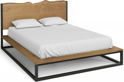 Corndell Oak Mill Platform Bed