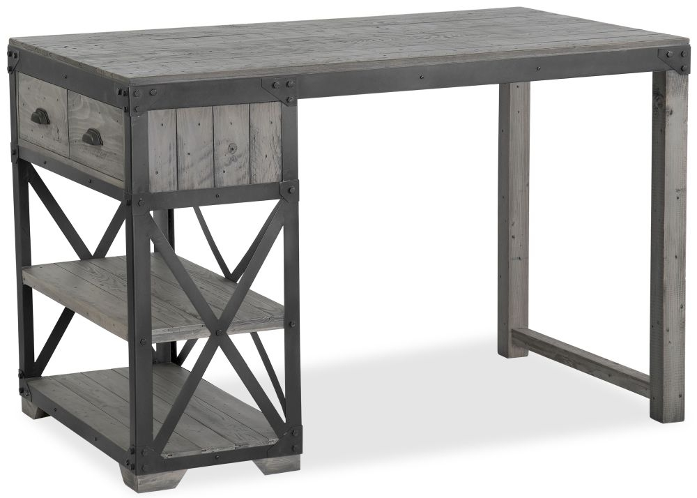 Corndell Paxton Bar Table - Recycled Pine and Metal