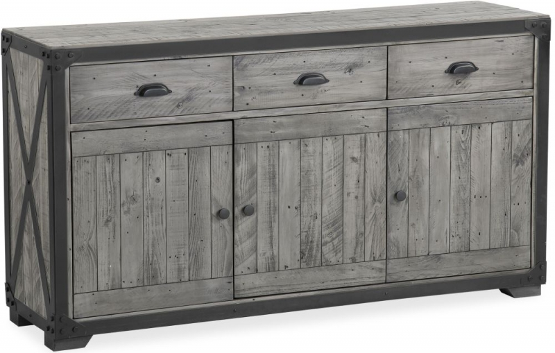 Corndell Paxton Sideboard - Recycled Pine and Metal