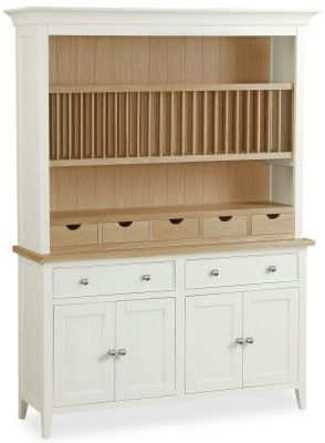 Corndell Tetbury Painted Large Sideboard with Open Hutch