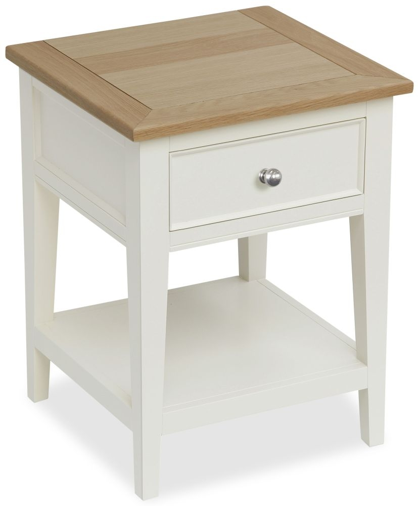 Corndell Tetbury Painted 1 Drawer Lamp Table