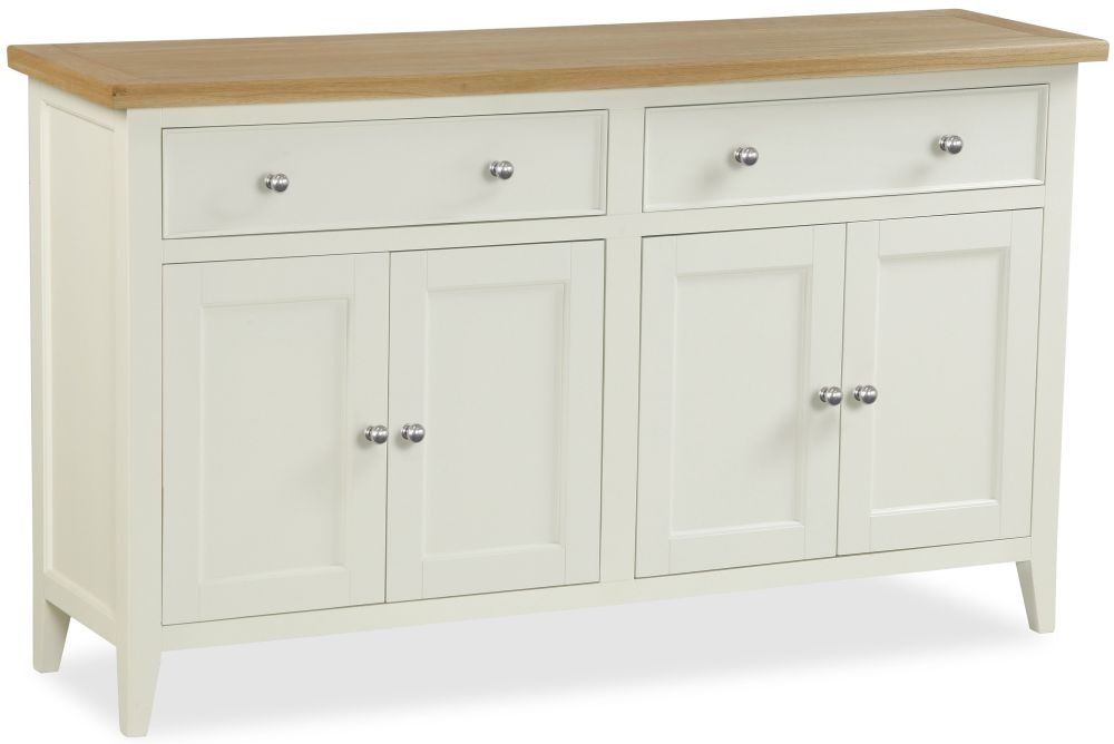 Corndell Tetbury Painted Sideboard - Large Wide 2 Door 2 Drawer