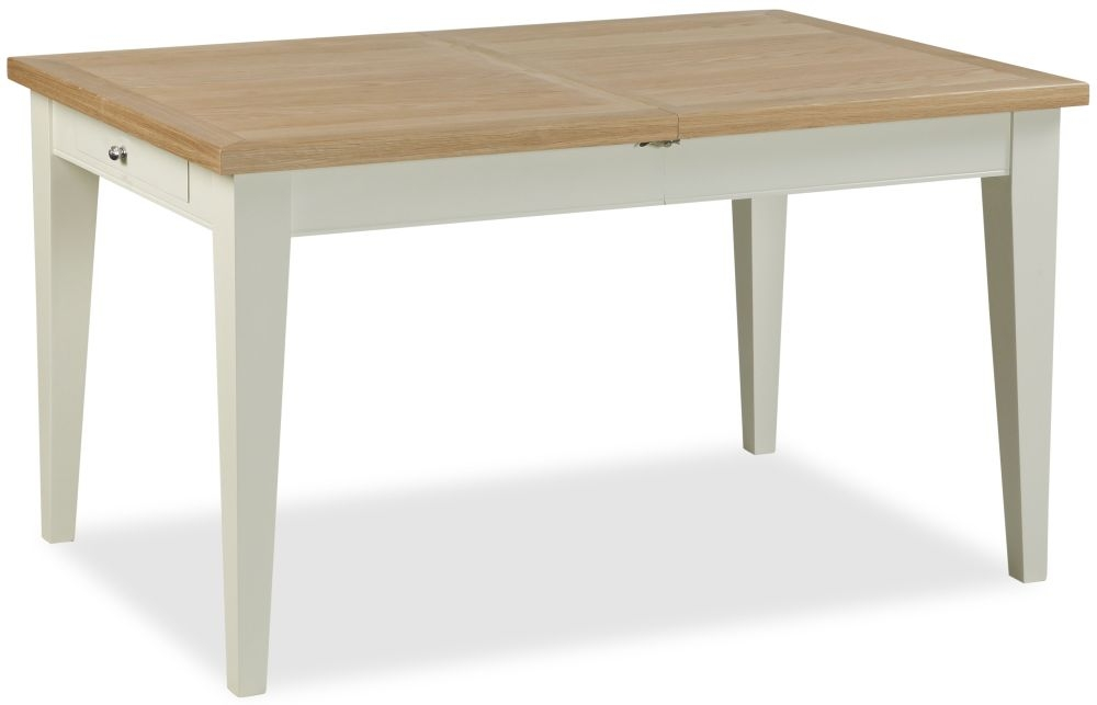Corndell Tetbury Painted Dining Table - 135cm-180cm Small Extending