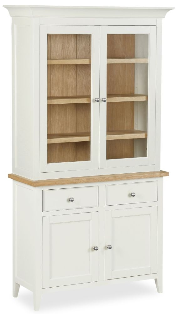 Corndell Tetbury Painted Sideboard with Dresser Top - Small 4 Door 2 Drawer