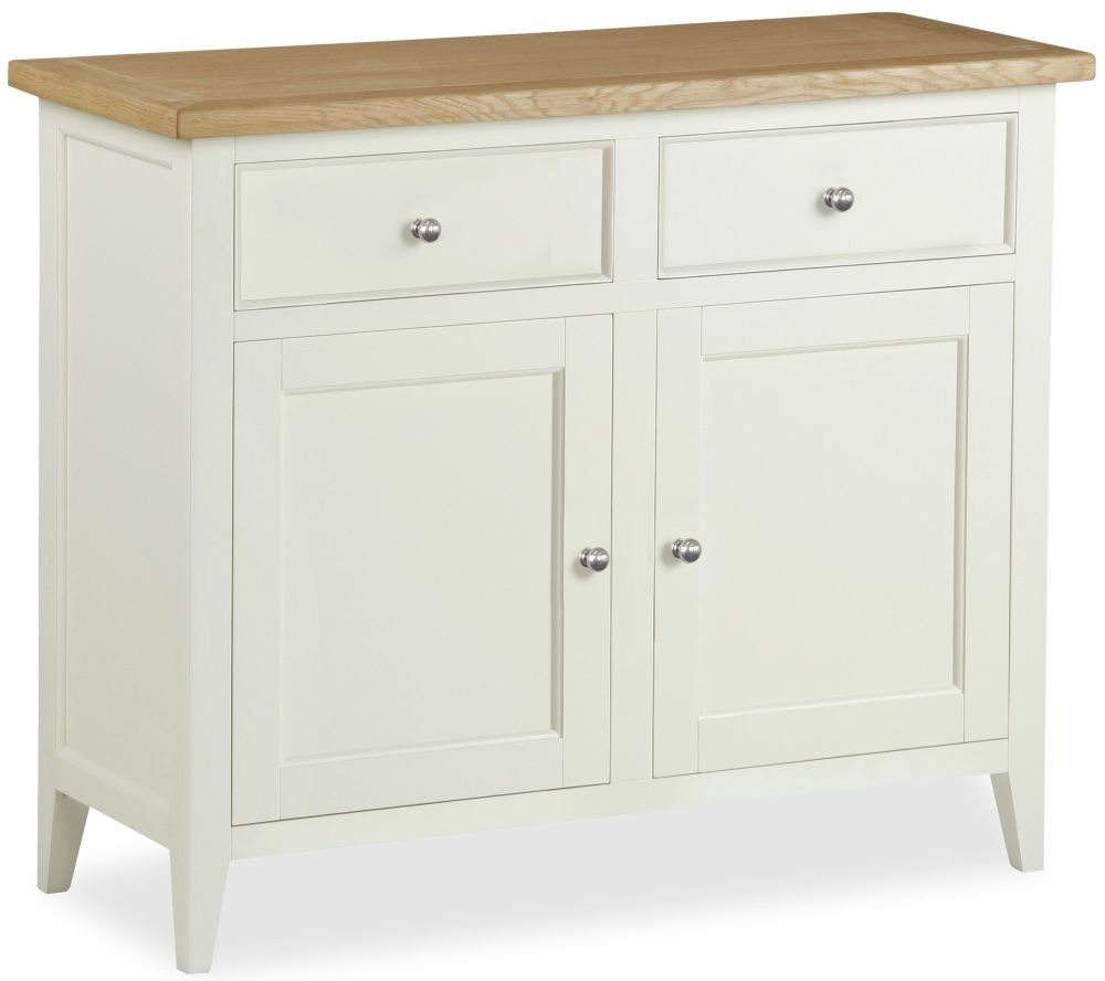 Corndell Tetbury Painted Sideboard - Small Narrow 2 Door 2 Drawer
