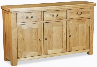 Corndell Winslow Oak 3 Door Sideboard