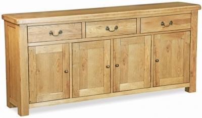 Corndell Winslow Oak 4 Door Sideboard