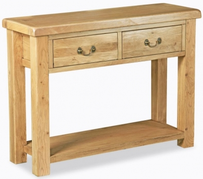 Corndell Winslow Oak Console Table