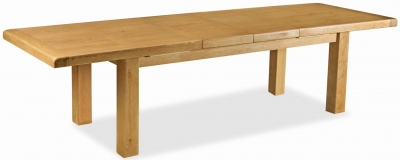 Corndell Winslow Oak Extending Table
