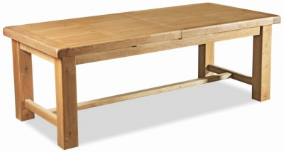 Corndell Winslow Oak Large Extending Table