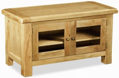 Corndell Winslow Oak TV Unit