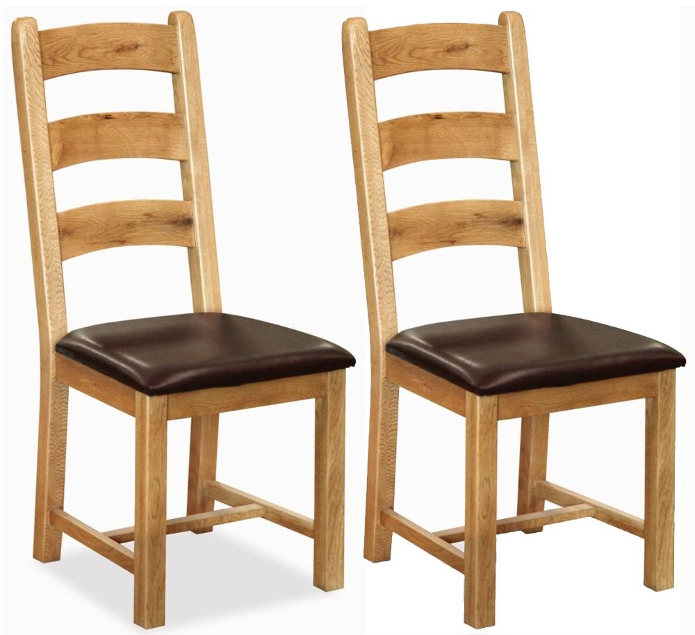 Corndell Winslow Oak Dining Chair (Pair)