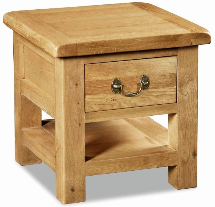 Corndell Winslow Oak Lamp Table