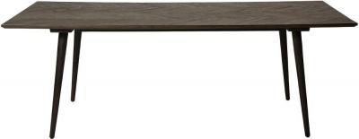Dan Form Bone Reclaimed Elm 220cm Rectangular Dining Table