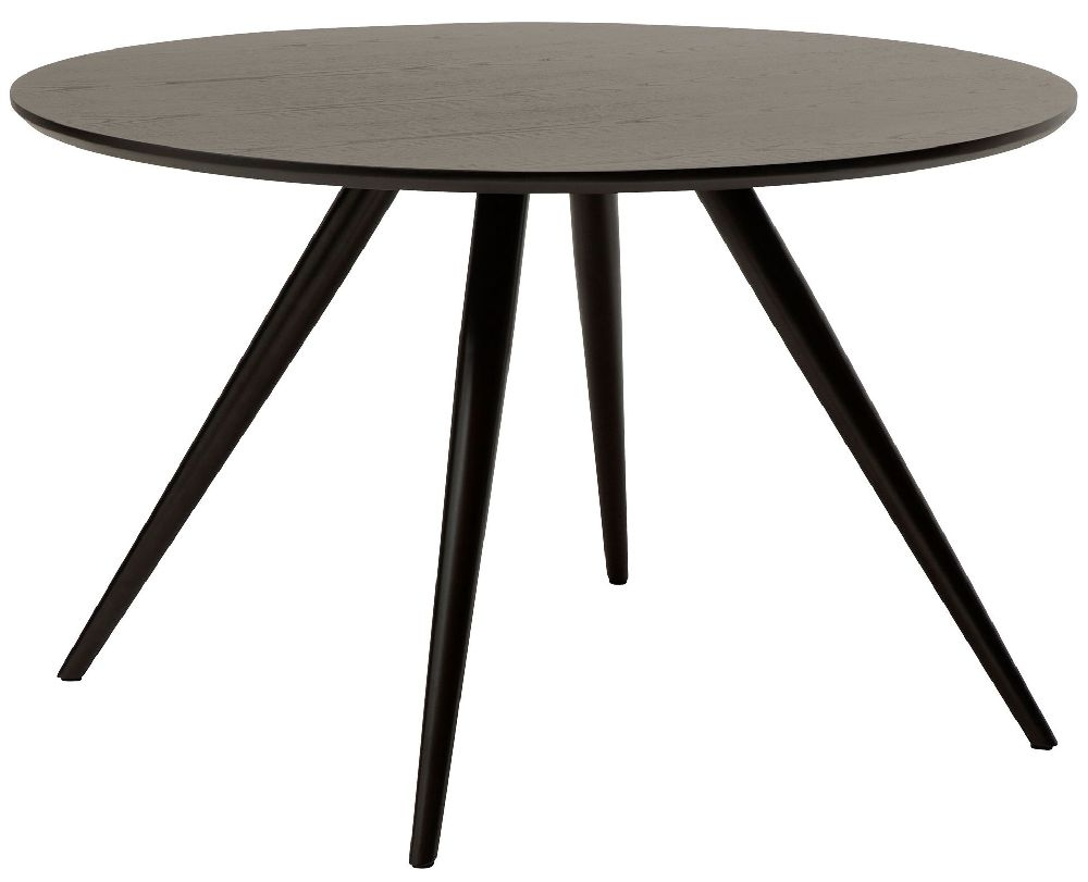 Dan Form Eclipse Black Round Dining Table