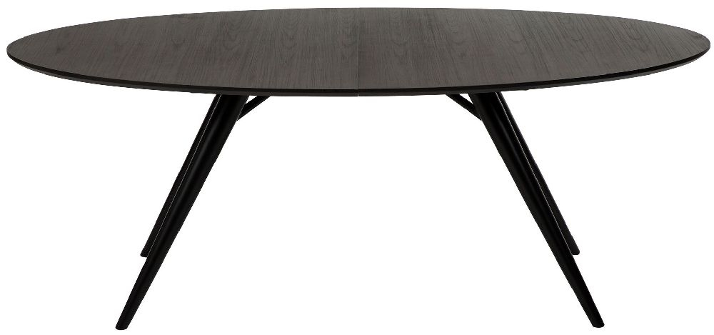 Dan Form Eclipse Grey 200cm-300cm Oval Extending Dining Table