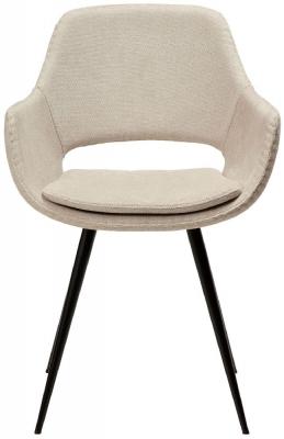 Dan Form OHH Desert Sand Fabric Armchair