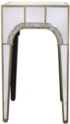 Angelo Glamour Mirrored End Table
