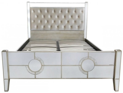 Angelo Mirrored 5ft Bed Frame