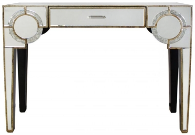 Angelo Mirrored Console Table