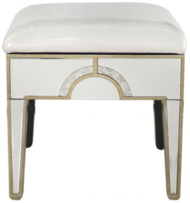 Angelo Mirrored Stool