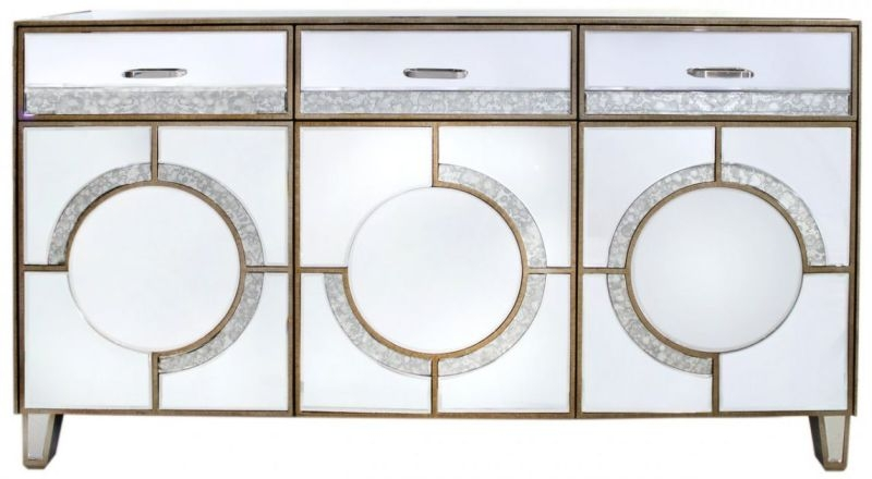 Angelo Mirrored Sideboard