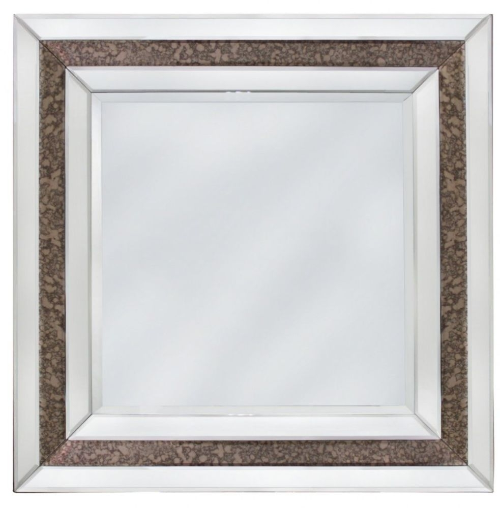 Angelo Antique and Clear Wall Mirror