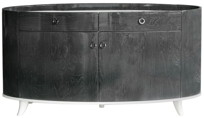 Anna Grey Walnut Large Sideboard