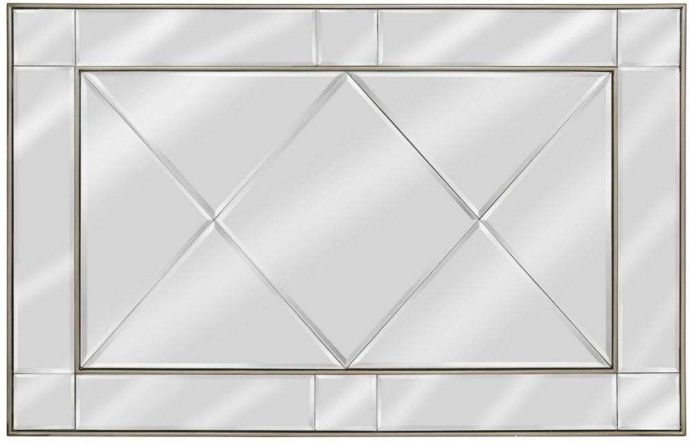 Bari Gold Wall Mirror - 130cm x 90cm