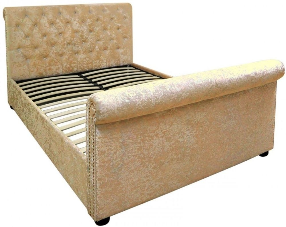 Mesa Gold Bed Frame - 5ft King Size