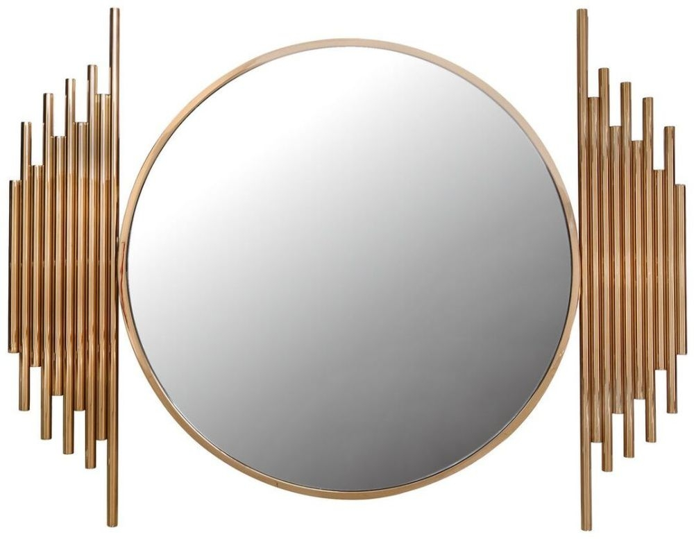 Burgio Rose Gold Wall Mirror - 118cm x 90cm