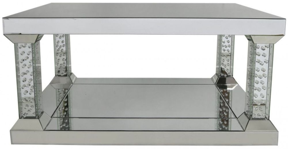 Castro Mirrored Coffee Table - Large