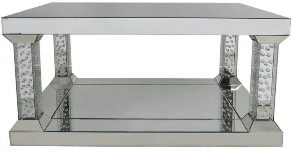 Castro Mirrored Large Coffee Table