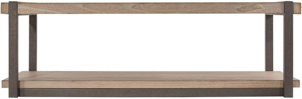 Della Natural Wood Coffee Table