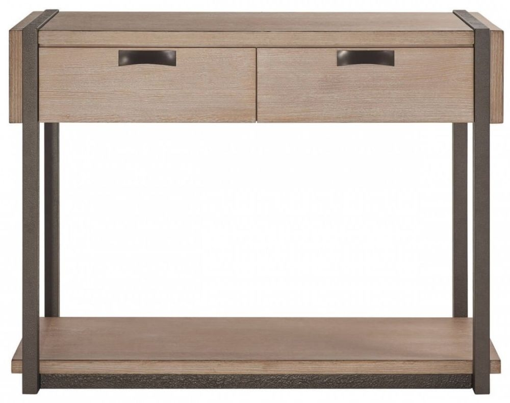 Della Natural Wood Sideboard - 2 Drawer
