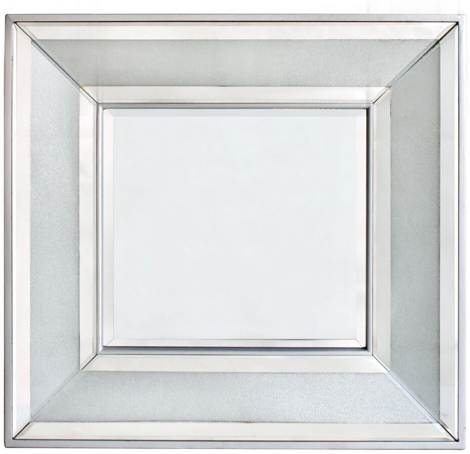 Forest Diamond Crush Square Wall Mirror - 90cm x 90cm