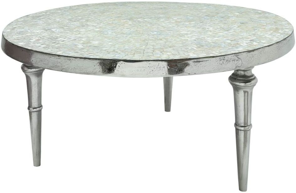 Forest Mother of Pearl Coffee Table