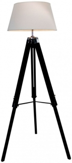 Havana Black Floor Lamp
