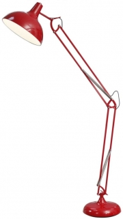 Havana Red Hinged Floor Lamp