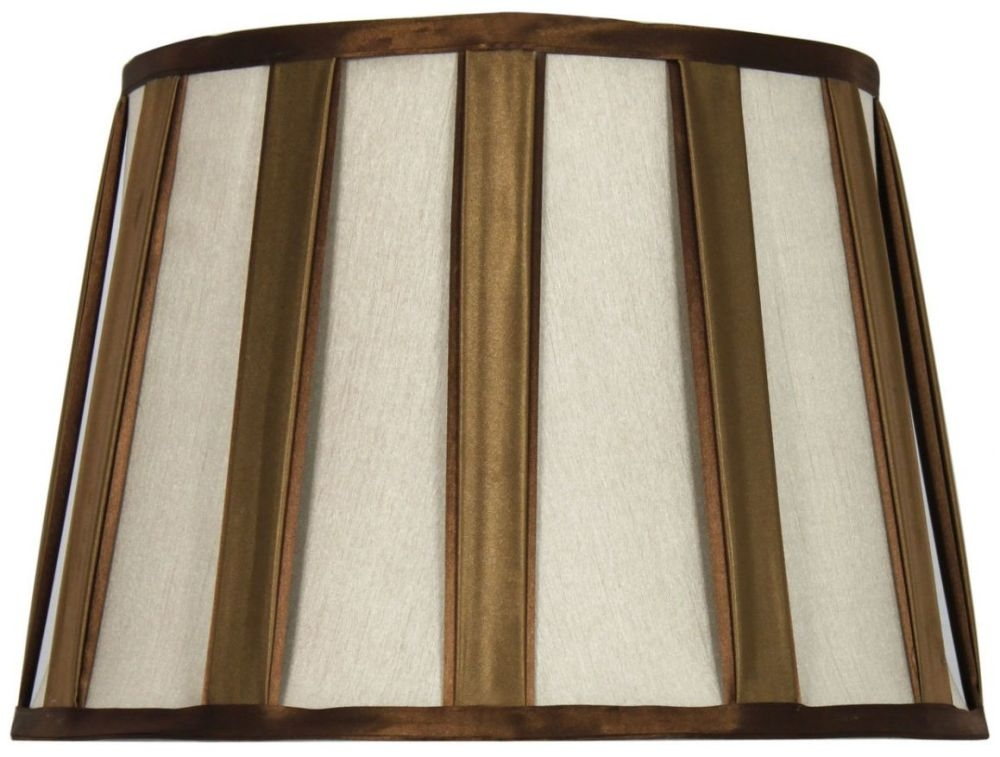 Bronze and gold 15inch pleated shade for 15 inch window blinds