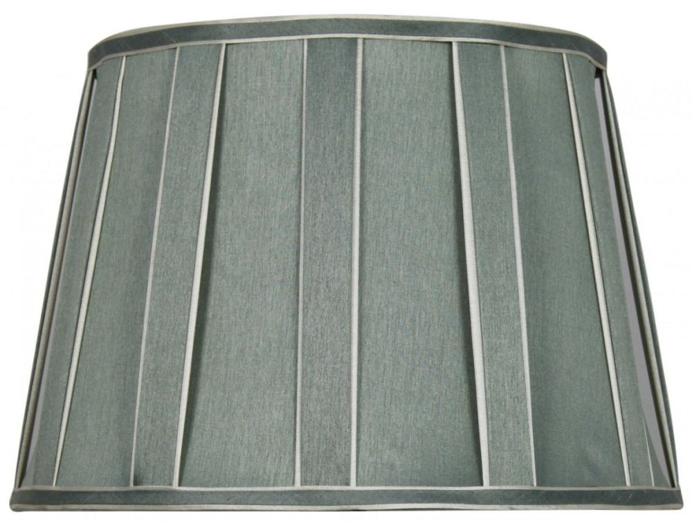 Duck egg 15inch pleated drum shade for 15 inch window blinds