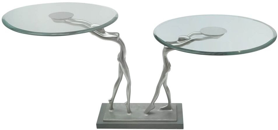 Limerick Glass Large End Table