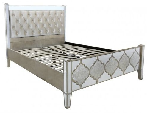 Marlow Mirror King Size Bed Frame