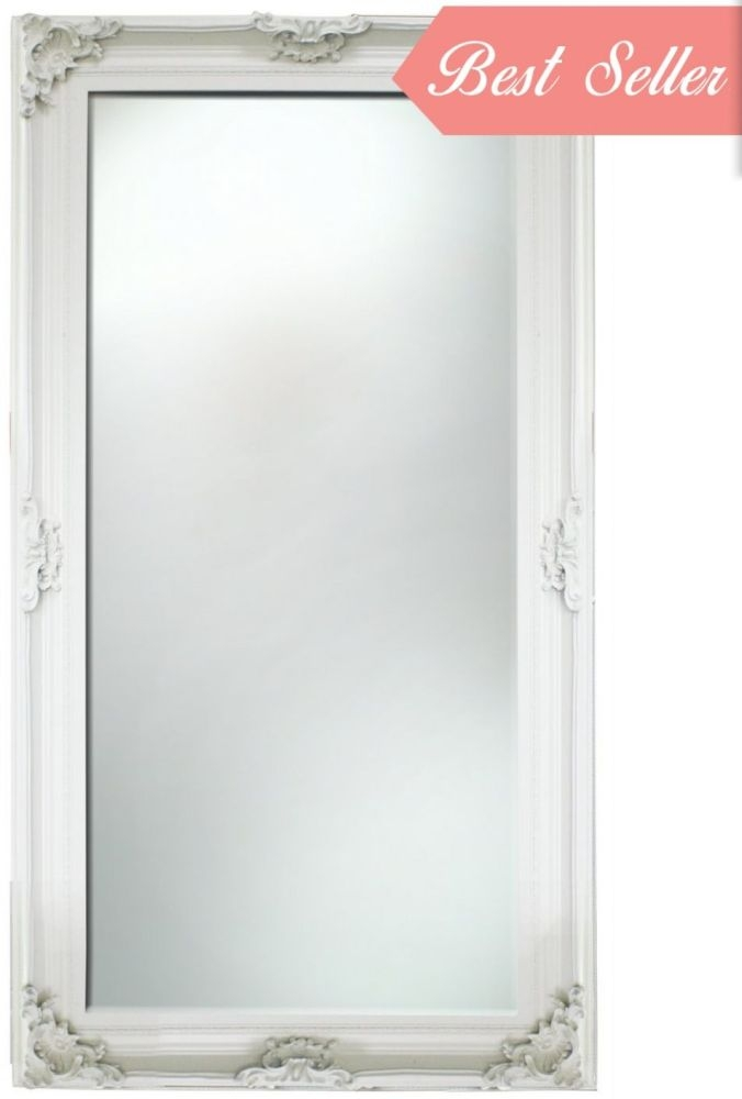 Amaris Ivory Rectangular Extra Large Wall Mirror
