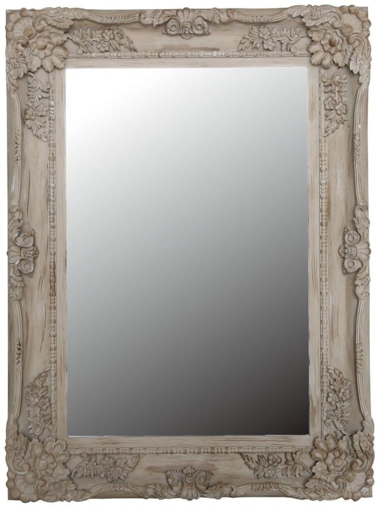 Iris Chateau Wall Mirror - Rectangular