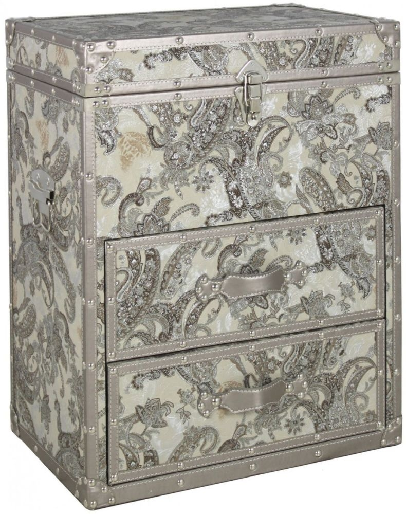 Mocha Perth Trunk - 2 Drawer