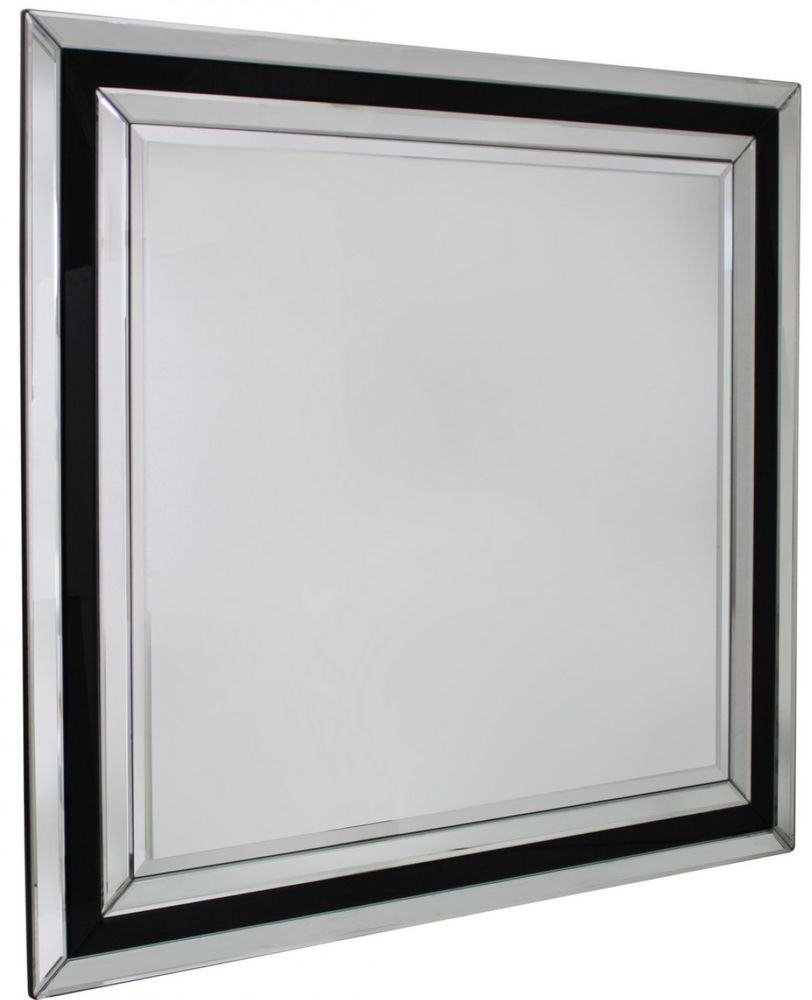 Montague Black Wall Mirror