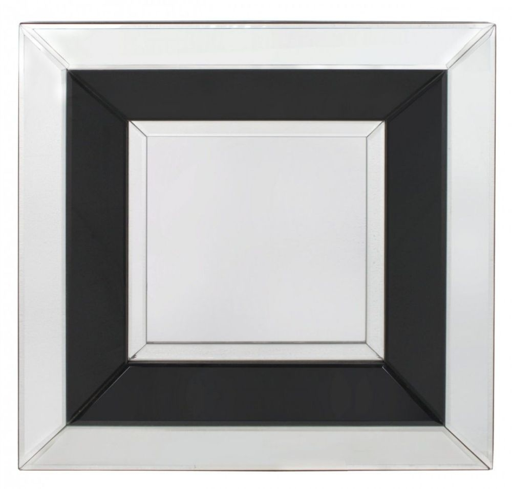 Montague Black Wall Mirror - Small