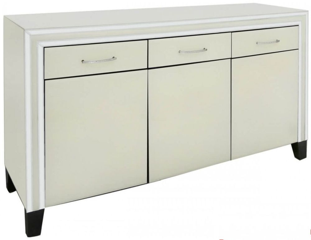 Montague Cream 3 Drawer 3 Door Cabinet
