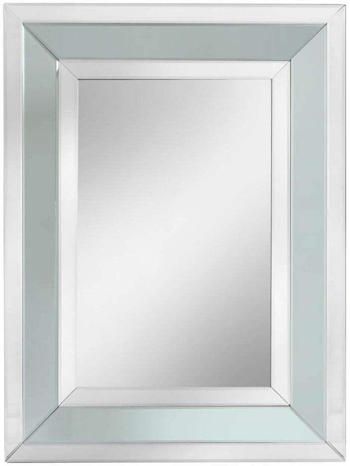 Montague Grey Rectangular Wall Mirror - 102cm x 76cm